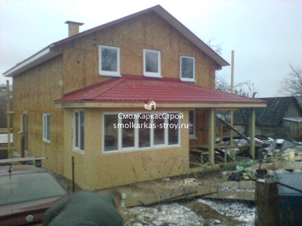 Строительство дома ул. Лавочкина