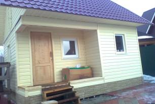 Строительство дома, д. Пениснарь
