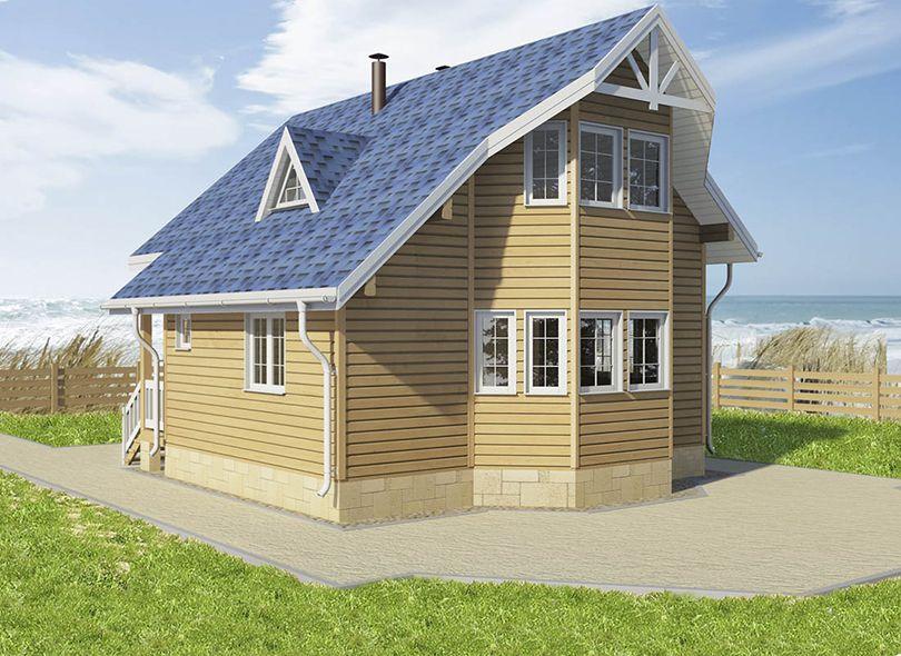 Проект дома Бавария