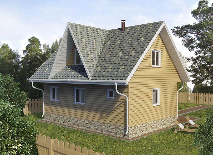 Проект дома Диана