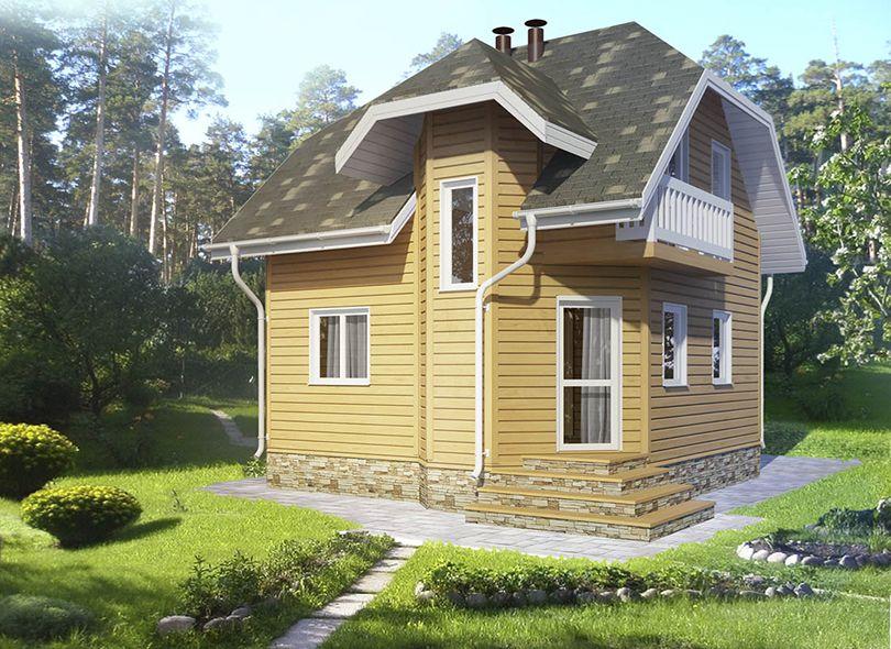 Проект дома Эллада