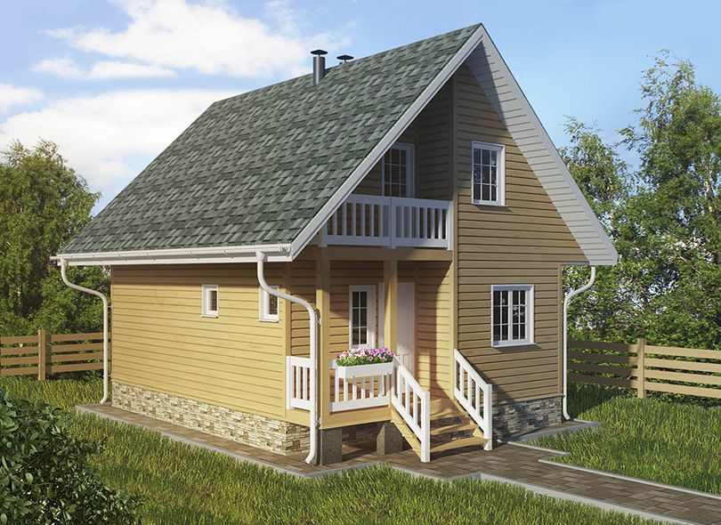Проект дома Фантазия