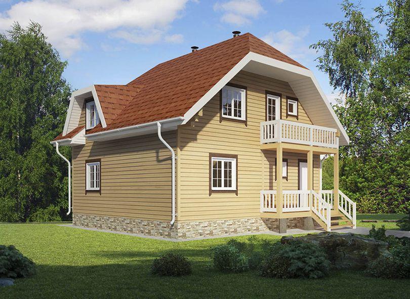 Проект дома Гринландия