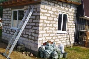 Строительство дома, д. Станички